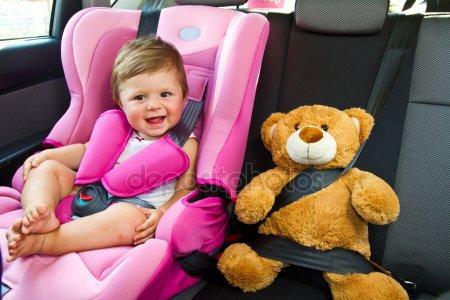 Требования к перевозке детей-пассажиров в салоне транспортных средств