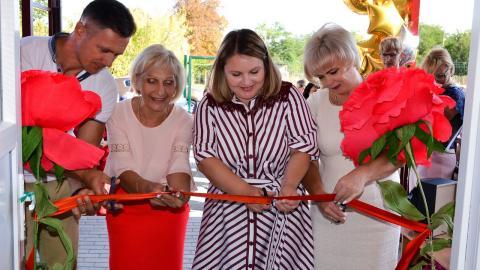 В Черноморском районе состоялось  открытие модульного детского сада на 100 мест