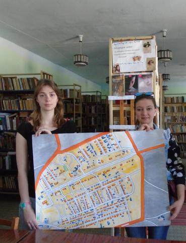 Создана Карта-схема  Новоивановки