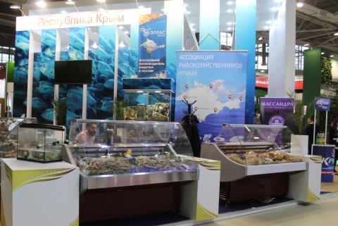 Крымские аграрии собрали  богатый урожай медалей и наград  на выставке «Золотая осень»