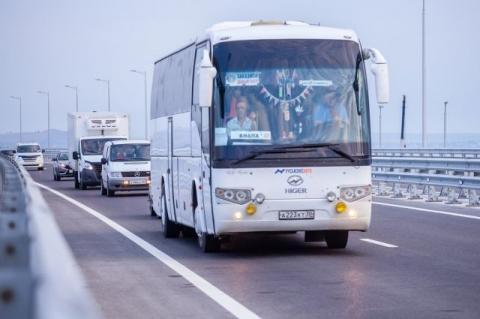 С 10 июля в Крым можно добраться автобусами по «единому» билету из Анапы и Краснодара
