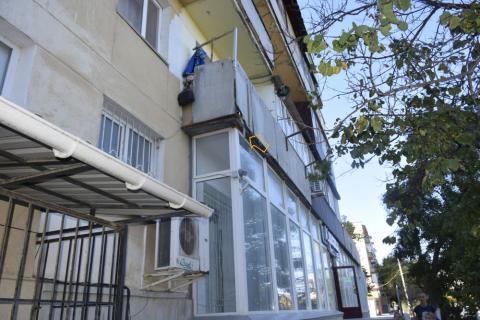 Осторожно! Ветхие балконы!