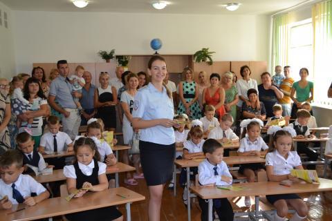 Проведены правовые занятия  в образовательных учреждениях Черноморского района