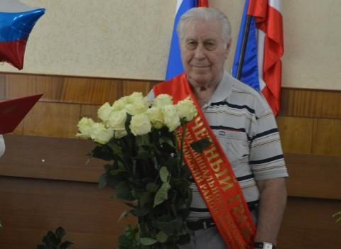 ПЕРВЫЙ ПОЧЁТНЫЙ ГРАЖДАНИН  ЧЕРНОМОРСКОГО РАЙОНА — Александр Иванович БАЛАГУРА