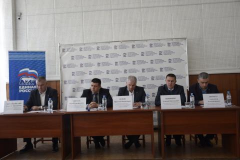 Состоялась XII конференция  Черноморского местного  отделения Всероссийской  политической партии  «ЕДИНАЯ РОССИЯ»