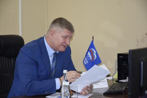 Приём депутата Госдумы  в Черноморском районе